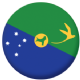 Christmas Island Flag 58mm Mirror